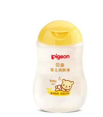 贝?#23376;?#20799;润肤油 宝宝按摩油抚触油婴幼儿滋润保湿护肤200ml IA106