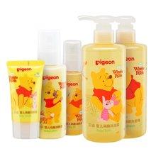 贝亲洗浴护肤组合 迪士尼维尼小熊系列IA174-IA178