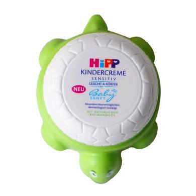 【支持購物卡】德國喜寶Hipp小烏龜有機杏仁油面霜寶寶兒童保濕潤膚乳100ml