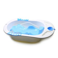 Babyhood婴儿爱心浴盆(蓝色)(87.5*51*22cm)