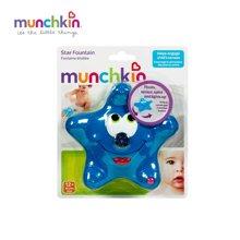 Munchkin/满趣健  海星喷泉洗澡玩具 (颜色红色蓝色可以备注需求)