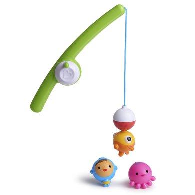 Munchkin/滿趣健  釣魚洗澡玩具