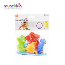Munchkin/满趣健  海洋動物噴水玩具 - 4個裝