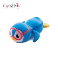 Munchkin/满趣健  自由泳小企鹅洗澡玩具 可备注颜色(粉色/蓝色)