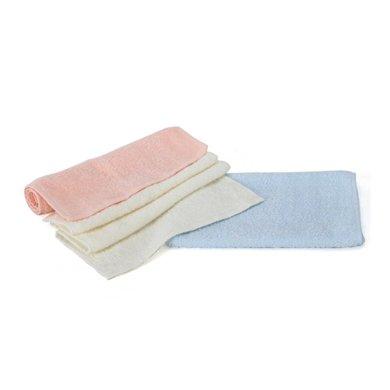 minimoto小面巾3入(藍、橙、白色)(YA0441)