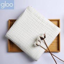 G100寄意百婴儿浴巾纯棉纱布新生儿超柔盖毯儿童六层加厚吸水毛巾GMW6908