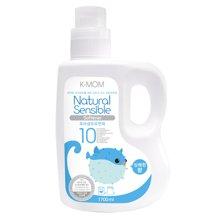 【韩国进口现货】K-MOM幼儿柔顺剂 1700ml瓶装 宝宝衣物柔软 清新气息