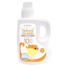【韩国进口现货】K-MOM幼儿柔顺剂 1700ml瓶装 宝宝衣物柔软 温暖阳光