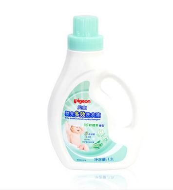 Pigeon/贝亲婴儿多效洗衣液柠檬草香1.2L MA56