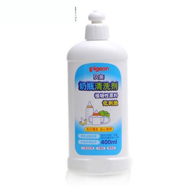 貝親奶瓶清洗劑 奶瓶果蔬清潔劑MA26 嬰兒奶瓶清潔液/洗潔精400ml