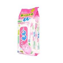 【临期品】日本和光堂wakodo 婴儿桃精华除菌湿手口纸巾(20片*2包)