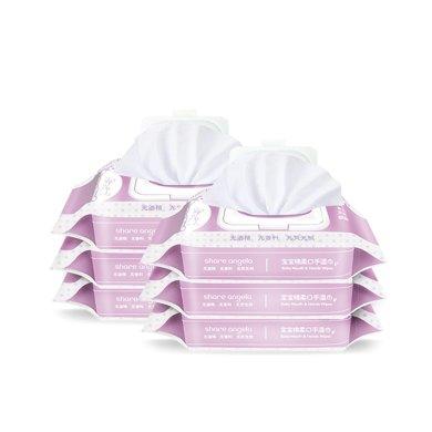 十月天使宝宝湿巾婴儿手口湿纸巾润肤柔湿巾