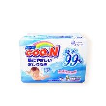 日本GOON 大王 盒装湿纸巾补充装(70片)