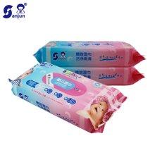 日本楚牌婴儿湿巾50抽3联包 新生儿宝宝用湿巾纸 精致柔软湿纸巾