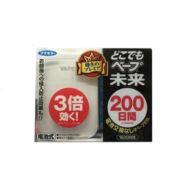 【香港直邮】日本VAPE 未来台式静音电池防蚊驱蚊器3倍效果200日*1个