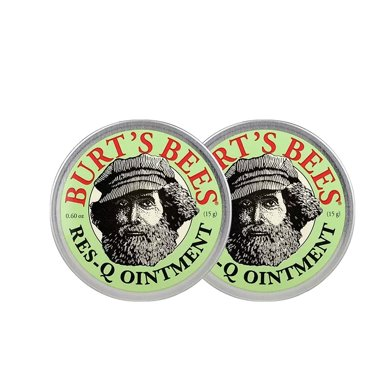 2盒*美国小蜜蜂Burts bees紫草膏婴儿童驱蚊虫叮咬宝宝止痒膏15g【香港直邮】
