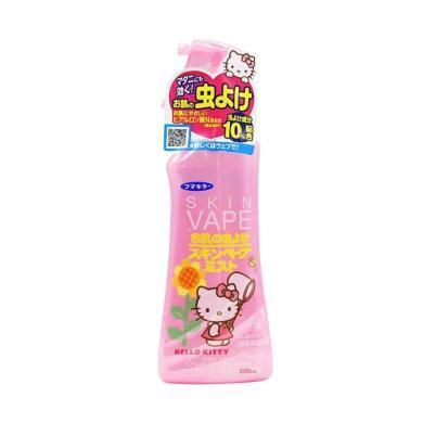 【支持购物卡】日本VAPE未来宝宝驱蚊水婴儿驱蚊液喷雾 儿童孕妇防蚊 200ml 粉色
