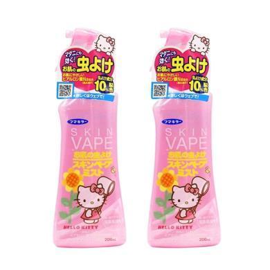 【支持購物卡】【2瓶】日本VAPE未來寶寶驅蚊水嬰兒驅蚊液噴霧 兒童孕婦防蚊 200ml 粉色