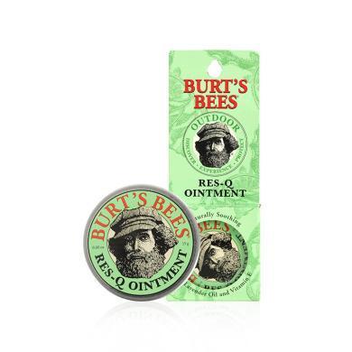 1盒*美國小蜜蜂Burts bees紫草膏嬰兒童驅蚊蟲叮咬寶寶止癢膏15g【香港直郵】