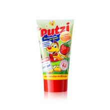 【德国】Putzi璞慈儿童防蛀牙防龋齿牙膏草莓味50ml 红色
