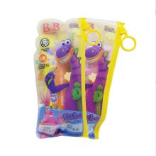 韩国保宁牙膏牙刷套装1组(1支牙膏+1支牙刷)(葡萄香型和橙子香型随机发货)适合5-7岁儿童