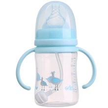 日康宽口有柄自动PP奶瓶180ml(RK3131)