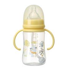 日康宽口有柄自动PP奶瓶240ML(RK3129)