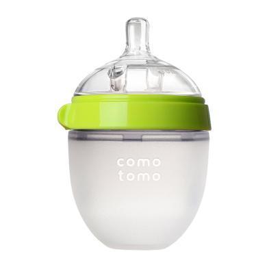 【支持購物卡】美國COMOTOMO可么多么寬口硅膠奶瓶150ml