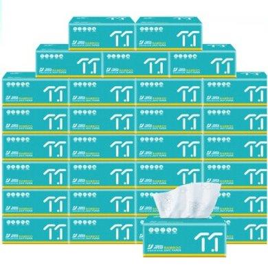 佳益 竹漿抽紙30包餐巾紙批發紙巾整箱家庭裝衛生紙家用面巾紙擦手紙 30包整箱裝