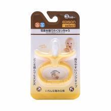 KJC EDISON 宝宝香蕉型奶嘴咀嚼器 3个月起(1个)