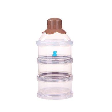 小白熊三層奶粉盒(09225)