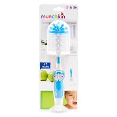 Munchkin/满趣健  新款豪華奶瓶刷(三色可选,未备注颜色随机发)