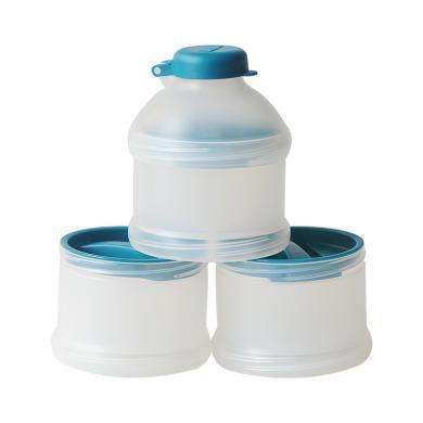 【支持购物卡】德国NUK多层便携奶粉储存盒 颜色随机
