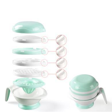 babycare嬰兒輔食機 輔食研磨機器蒸煮攪拌一體機輔食工具 3590