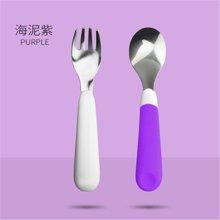 卓理/zolitt 儿童餐具宝宝不锈钢叉子叉勺便携套装婴儿辅食训练勺子叉子碗勺