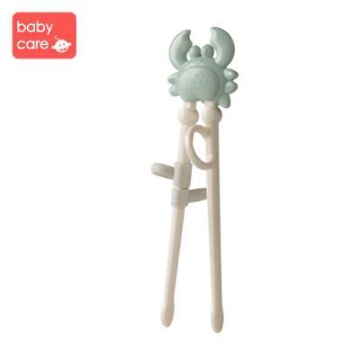 babycare 兒童筷子訓練筷寶寶一段學習筷健康環保練習筷餐具套裝2166