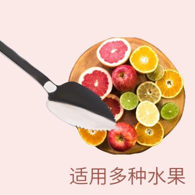 小壮熊儿童宝宝餐具婴儿刮苹果泥勺子套装辅食勺子硅胶刮水果泥研磨神器