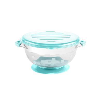 喔喔牛嬰兒碗 訓練碗 寶寶輔食碗 吸盤碗勺 兒童餐具包郵 新款吸盤碗