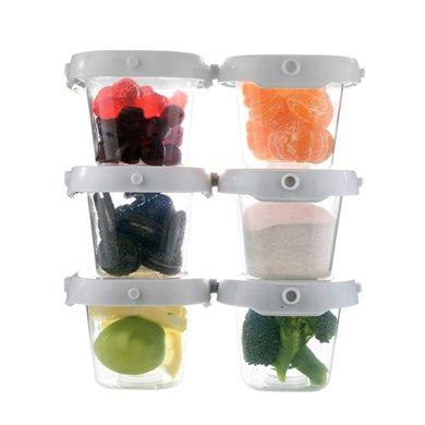 zolitt宝宝辅食盒食品冷冻储存盒婴儿零食宝宝辅食格保鲜迷你便携