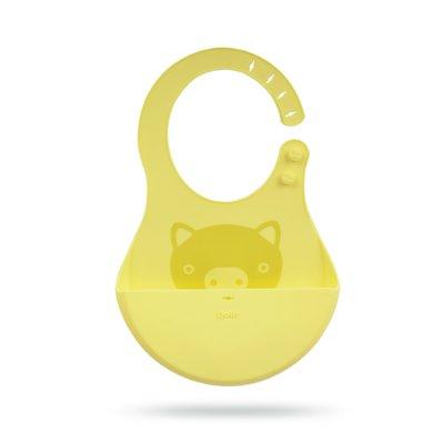 zolitt寶寶吃飯圍兜圍嘴嬰兒童硅膠食飯兜防漏防水喂飯小孩口水兜
