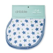 aden+anais美國品牌多功能護肩口水巾嬰兒圍嘴圍兜2只裝