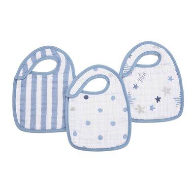 aden+anais美國品牌嬰兒棉圍嘴新生兒圍兜寶寶口水巾加厚款