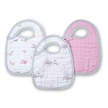 aden+anais美国品牌婴儿棉围嘴新生儿围兜宝宝口水巾加厚款