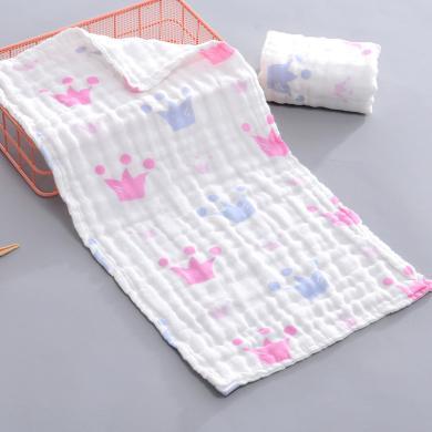 三只小貓 純棉A類高密紗布童巾兒童小毛巾寶寶面巾多層紗布柔軟A類無熒光 ksjwd07