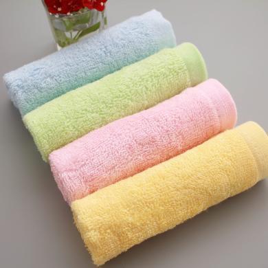 三只小貓 竹纖維25*25小方巾嬰幼兒寶寶口水巾柔軟吸水小毛巾 ksjwd09