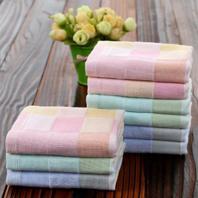 三只小貓 純棉小毛巾雙層紗布童巾幼兒園兒童洗臉巾禮品巾擦手   ksjwd02