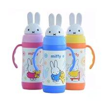 米菲儿童保温杯 宝宝吸管杯 新生婴儿学饮杯 宝宝水杯 宝宝保温杯 3511