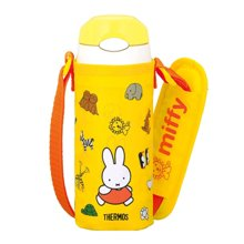 【日本】THERMOS膳魔师黄色米菲儿童用真空段热水壶保温杯360ml