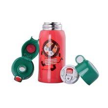 【香港直邮】日本虎牌儿童保温杯MBR-06盖杯吸管一杯两用304不锈钢水壶600ml*1