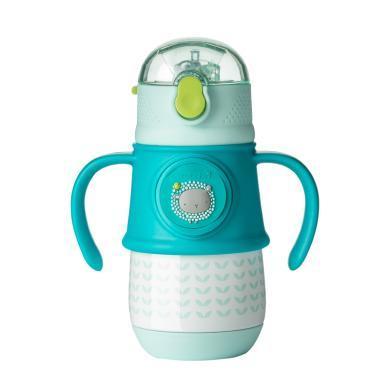 美國dexbaby寶寶不銹鋼保溫杯防漏學飲杯兒童重力球保溫水壺